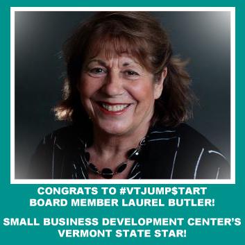 Board Member Laurel Butler Honored w/ VTAward