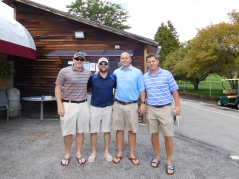 Team Northfield Savings Bank, the Low Gross Winners